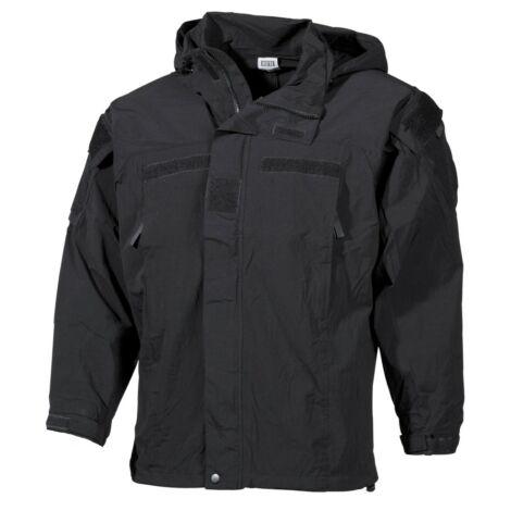 MFH US Soft Shell Jacket, black, GEN III, Level 5