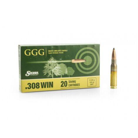 GGG .308Win SBT Sierra Match King 180gr lőszer