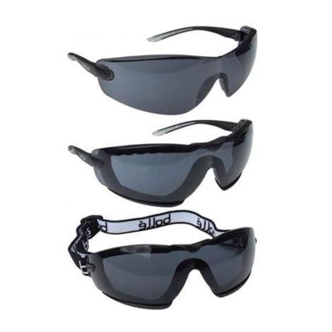 Bollé Cobra füstszínű védőszemüveg szett