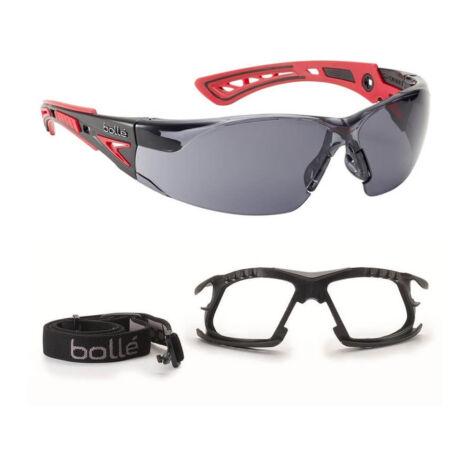 Bollé Rush+ P+ védőszemüveg szett