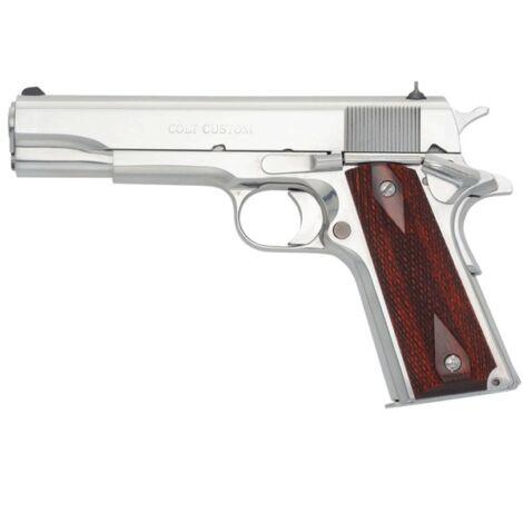 Colt 1911 Custom Super .38Super Auto Polished pisztoly