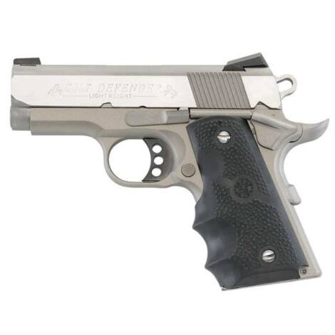 Colt 1911 Defender .45 A.C.P. Stainless Steel pisztoly