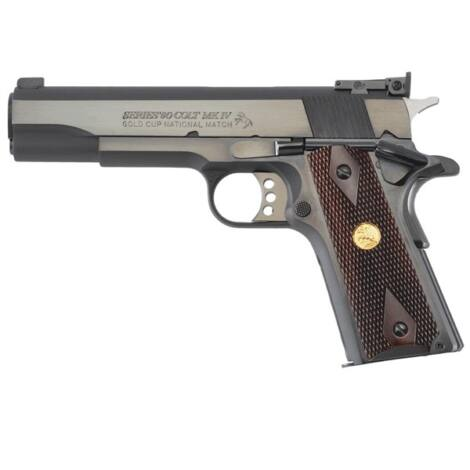 Colt 1911 Gold Cup National Match .45 A.C.P. Royal Blue pisztoly