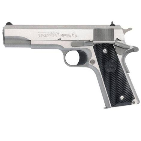 Colt 1911 GI Government .45 A.C.P. Stainless Steel pisztoly