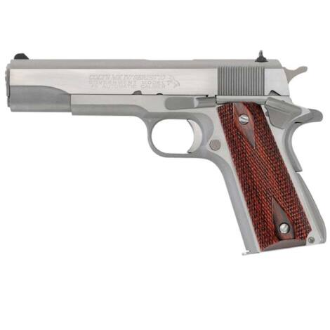 Colt 1911 Series 70 Government .45 A.C.P. Stainless Steel pisztoly