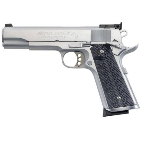 Colt 1911 Special Combat Government .45 A.C.P. Stainless Steel pisztoly