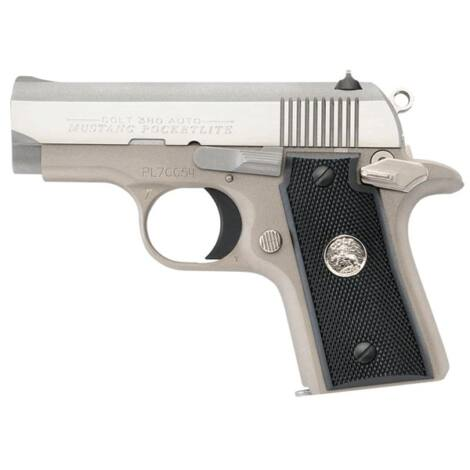 Colt Mustang Pocketlite .380 A.C.P. Stainless Steel pisztoly