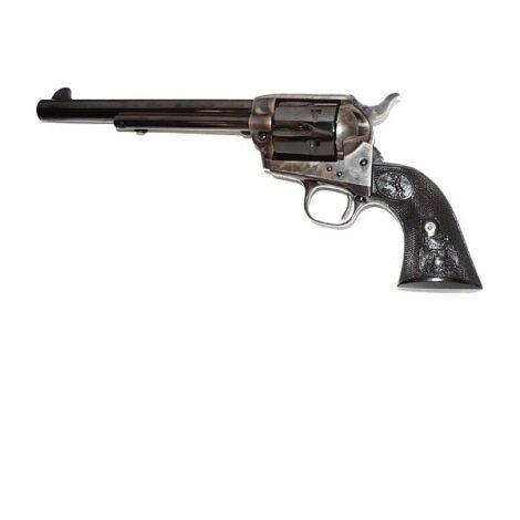"Colt Single Action Army 7.5"" .45 Long Colt Case Hardened revolver"