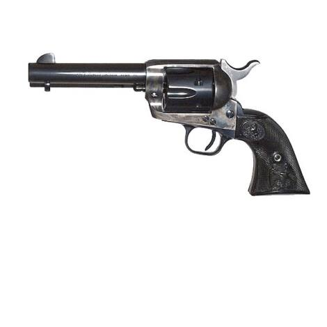 "Colt Single Action Army 4.75"" .45 Long Colt Case Hardened revolver"