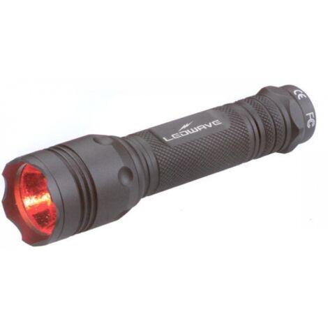 Ledwave Wild Finder II vadász lámpa piros