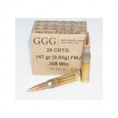 GGG .308Win FMJ 147gr
