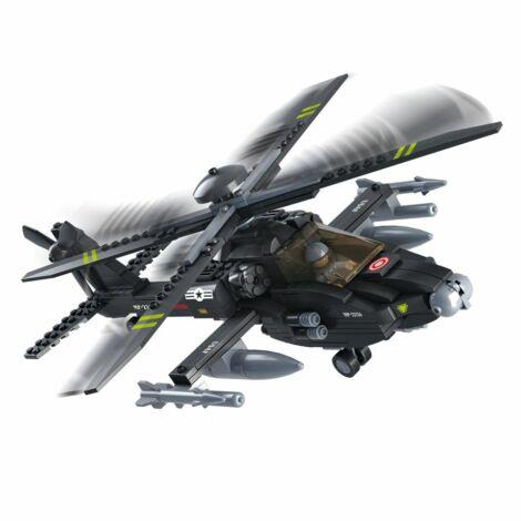 Sluban Apache helikopter építő játék