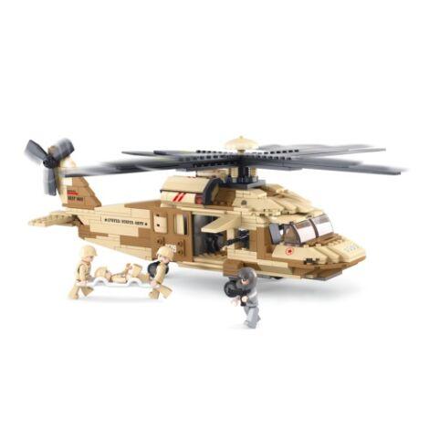 Sluban Blackhawk helikopter építő játék