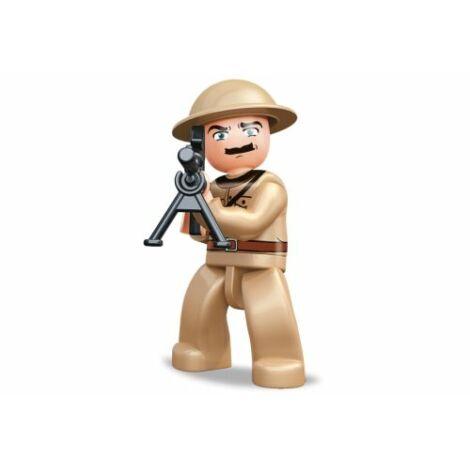 Sluban II. világháborús brit katona minifigura