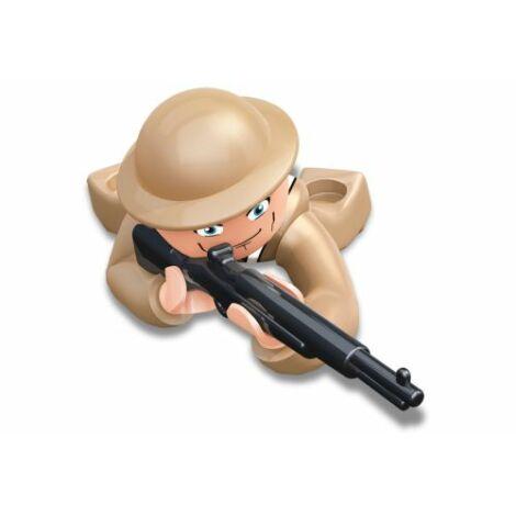 Sluban II. világháborús brit lövész minifigura
