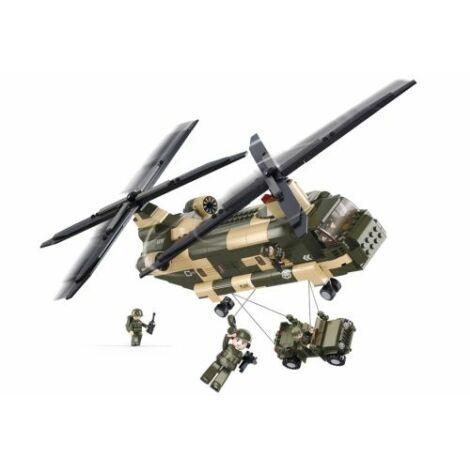 Sluban Chinook helikopter építő játék