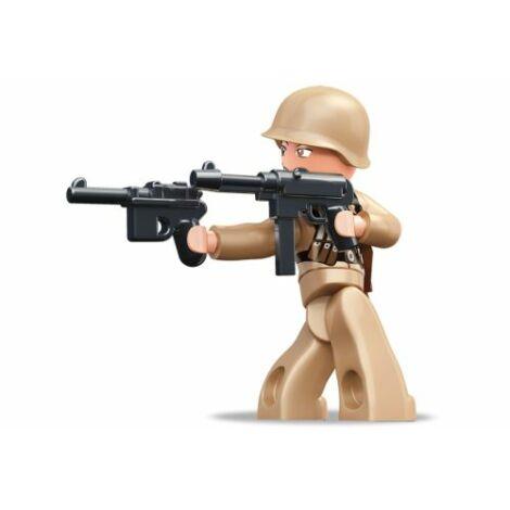 Sluban II. világháborús francia tiszt minifigura