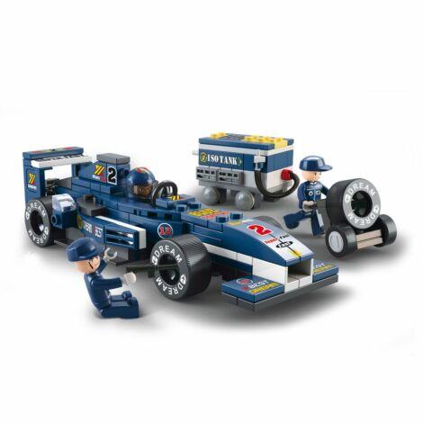 Sluban F1 versenyautó építő játék