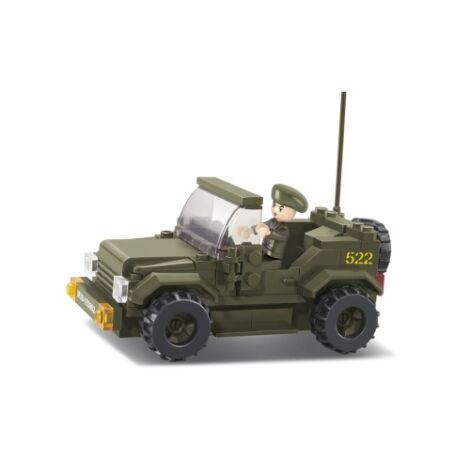 Sluban jeep építő játék