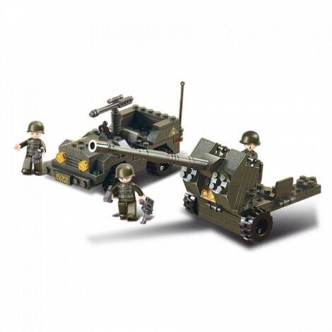Sluban jeep üteggel építő játék