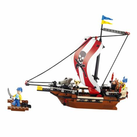 Sluban kalózhajó építő játék