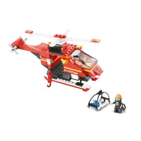 Sluban mentőhelikopter építő játék