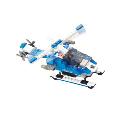 Sluban rendőrségi helikopter építő játék