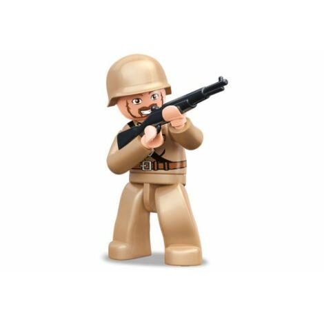 Sluban II. világháborús szovjet katona minifigura