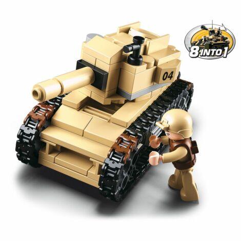 Sluban tank építő játék