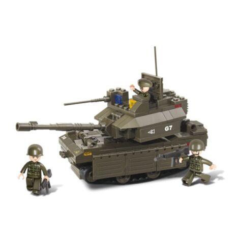 Sluban M1A1 tank építő játék