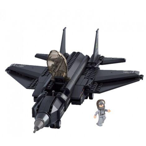 Sluban vadászrepülőgép építő játék