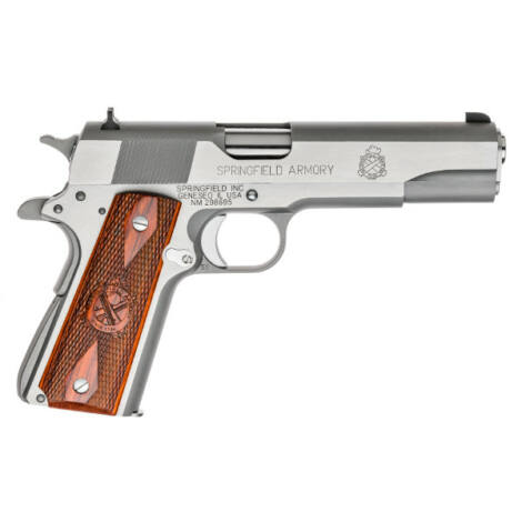 Springfield Armory 1911-A1 Mil-Spec .45 A.C.P. Inox pisztoly